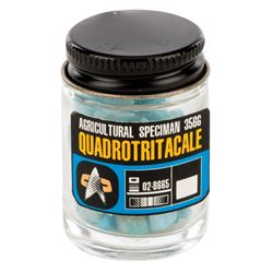 'Tribble' food in specimen jar from Star Trek: Deep Space Nine.