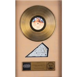 Gold RIAA Award for Star Wars: Episode IV - A New Hope.