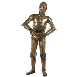 Industrial Light and Magic life-size 'C-3PO' from Star Wars.