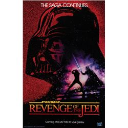 Star Wars: Episode VI - 'Revenge of the Jedi' advance dated-style 1-sheet poster.