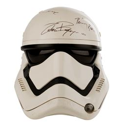 'Stormtrooper' screen used helmet signed by the cast from Star Wars: Episode VII - The Force Awakens