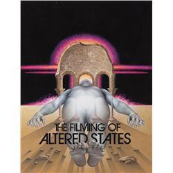 Original artwork of Altered States for Cinefantastique magazine cover.