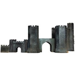 Army of Darkness medieval Castle model miniature.