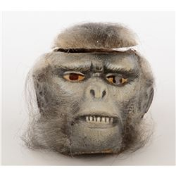 Monkey head prop from Indiana Jones and the Temple of Doom.