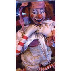 Clown doll prop from Poltergeist.