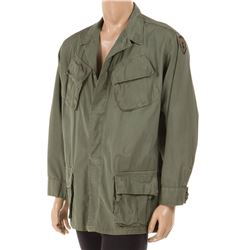 Forest Whitaker 'Big Harold' tropical combat coat from Platoon.