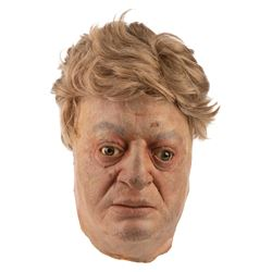 Rodney Dangerfield 'Thornton Mellon' stunt mask with wig from Back to School.
