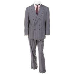Michael Douglas 'Gordon Gekko' signed suit fromWall Street.