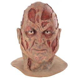 Robert Englund 'Freddy Krueger' background mask from Wes Craven's New Nightmare.