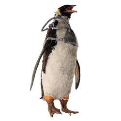 Life-size animatronic penguin from Batman Returns.