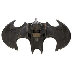 Batwing small-scale filming miniature from Batman.