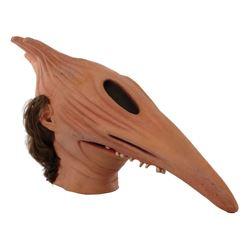 Alec Baldwin 'Adam' scary face display mask from Beetlejuice.