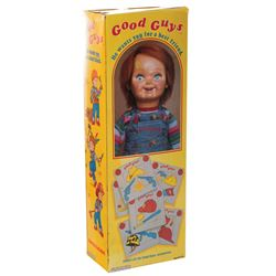 'Good Guy' Doll box and vacuum formed doll from Child's Play 2.