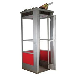 Time Machine phone booth from Bill & Ted's Bogus Journey.