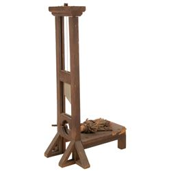 Jimmy Workman 'Pugsley' toy guillotine from The Addams Family.