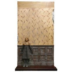 Hidden Christina Ricci 'Wednesday Addams' wall display recreation from Addams Family Values.