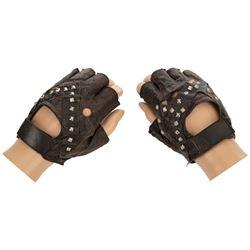Arnold Schwarzenegger 'Terminator' motorcycle gloves from The Terminator.