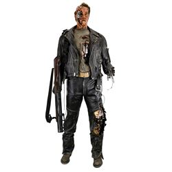 Arnold Schwarzenegger life-size 'Terminator' figure from Terminator 2: Judgment Day.