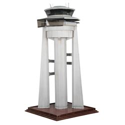 Air traffic control tower miniature from Die Hard 2.