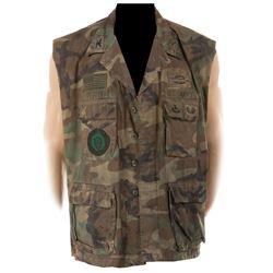 Dolph Lundgren 'Andrew Scott' military vest from Universal Soldier.