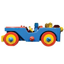 Large-scale toy Jeep from Toys.