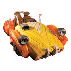 John Goodman 'Fred Flintstone' Stone-Age sports car from The Flintstones.