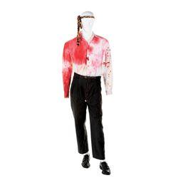 Robert Downey Jr. 'Wayne Gale' bloody costume from Natural Born Killers.