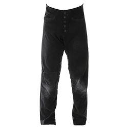Brandon Lee 'Eric Draven' velvet pants from The Crow.