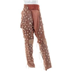 Jim Carrey 'Ace Ventura' shell beaded chaps from Ace Ventura: When Nature Calls.