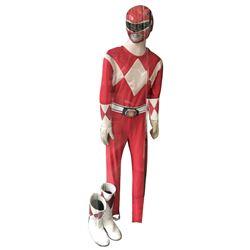 Austin St. John 'Red Power Ranger' costume from Mighty Morphin Power Rangers.