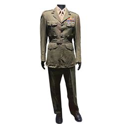 Will Smith 'Captain Steve Hiller' Class A military uniform from Independence Day.