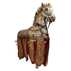 Trojan Horse prop from Romeo + Juliet.