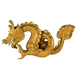 Golden Dragon trophy from The Quest.