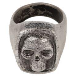 Billy Zane 'Phantom' stunt signature skull ring from The Phantom.