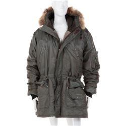 Geena Davis 'Samantha Caine' winter anorak jacket from the Long Kiss Goodnight.