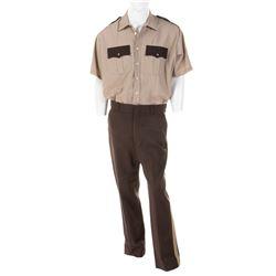 Sylvester Stallone 'Freddy Heflin' police uniform from Cop Land.