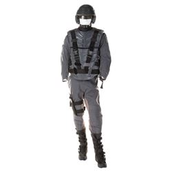 Starship Troopers Officer and Mobile Infantry uniform ensemble.