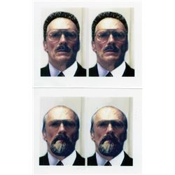 Clint Eastwood 'Luther Whitney' passport photos #1 & #2 from Absolute Power.