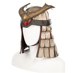 Brian Thompson 'Shao Kahn' helmet Mortal Kombat: Annihilation.