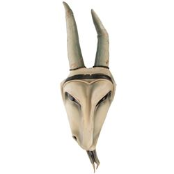 P.A.G.A.N. sacrificial cult Goat Mask from Dragnet.