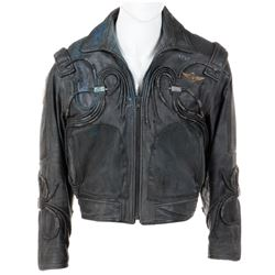 Matt LeBlanc 'Maj. Don West' signature leather jacket from Lost in Space.