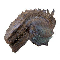 Godzilla prototype head from Godzilla.