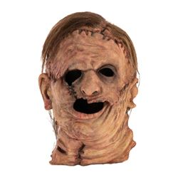 'Leatherface' prototype mask adapted from Texas Chainsaw Massacre.
