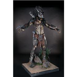 'Wolf Predator' creature costume on full body display from Alien vs. Predator: Requiem.