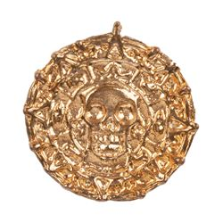 Cursed Aztec coin from Pirates of the Caribbean: Curse of the Black Pearl.