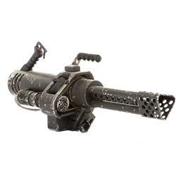 Deobia Oparei 'Destroyer' prop 'working' minigun from Doom.