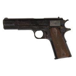 Chris Pine 'Steve Trevor' stunt M1911 Colt Government Classic .45 pistol from Wonder Woman.