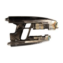 Chris Pratt 'Peter Quill / Star-Lord' hero and stunt static Quad Blasters from Guardians of the Gala