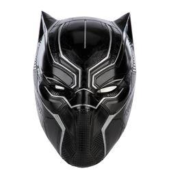 'Black Panther' superhero stunt helmet from Black Panther.