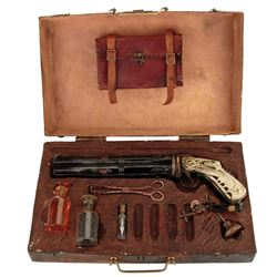 Nicolas Cage 'John Milton' signature 'Godkiller' resin gun with case & accessories from Drive Angry.